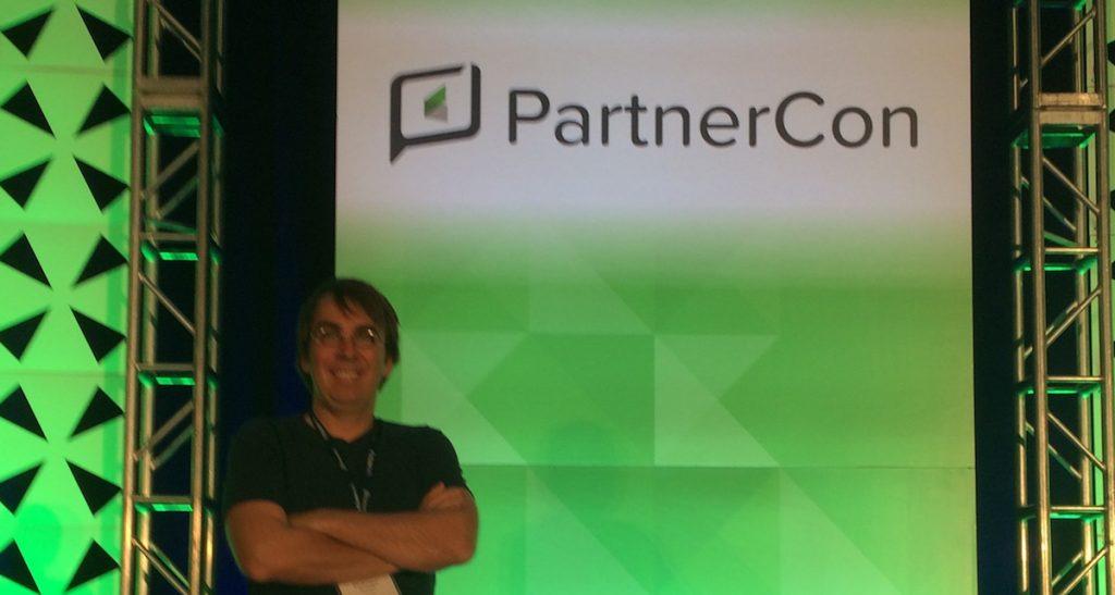 Philippe Bussière à PartnerCon 2016 d'Infusionsoft